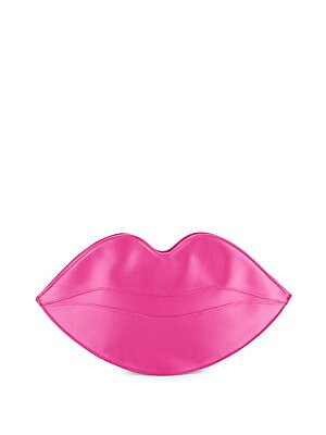 Big Kiss Satin Pouch