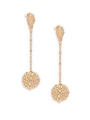 Stingray Rose Gold Drop Earrings/ 2.25