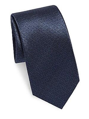 Circular Silk Tie