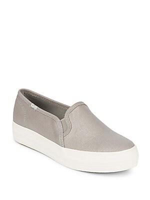 Triple Decker Slip-On Sneakers