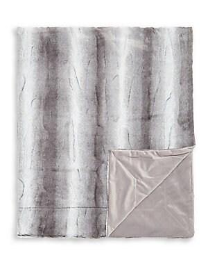 5060 Silver Throw Blanket