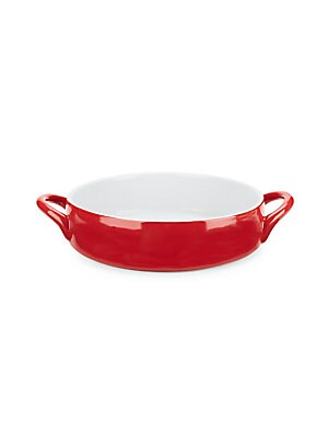 Glazed Ceramic Baking Dish