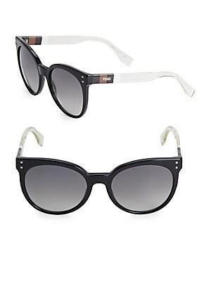 Gradient 55MM Wayfarer Sunglasses