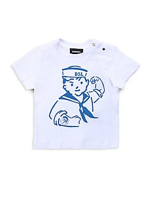 Baby's Graphic Cotton T-Shirt