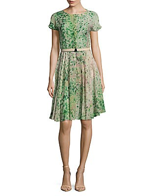 Clover Silk Dress