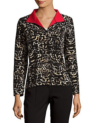 Laryn Animal Printed Jacket
