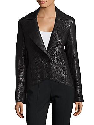 Bluff Leather Coat