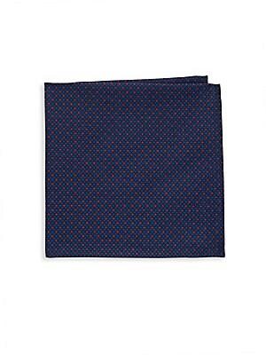Geometric Printed Cotton Handkerchief