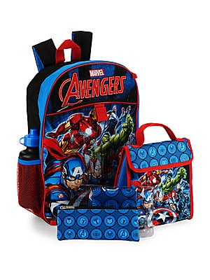 Five-Piece Avengers Backpack Set