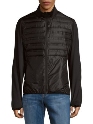 Detailed Puffy Jacket Saks Fifth Avenue