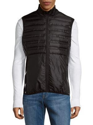 Puffy Sleeveless Vest Saks Fifth Avenue