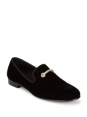 GIUSEPPE ZANOTTI Round Toe Loafers