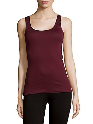 Cotton Squareneck Tank Top
