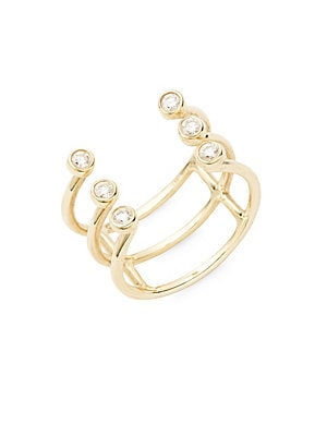 Click here for Bezel Diamond & 14K Yellow Gold Ring prices