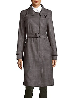 Again Belted Trench Coat