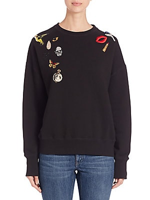Obsession Embroidered Sweatshirt