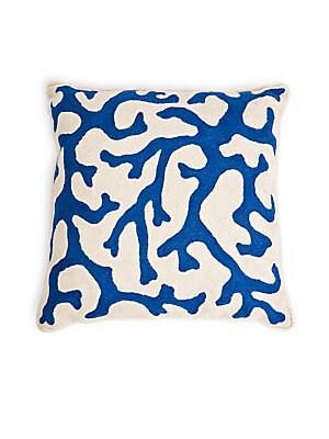 Vine Crewel Pillow