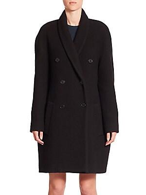 Bouclette Cocoon Coat