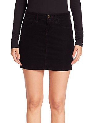 Gwynne Corded Velveteen Skirt