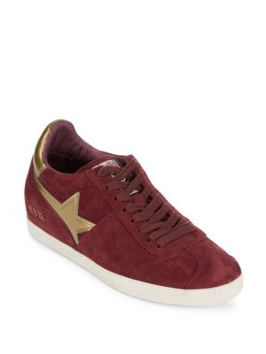 아쉬 ASH guepard wedge leather sneakers