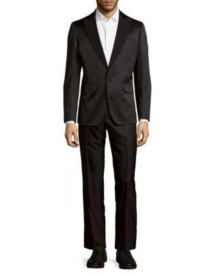 Dotted Tuxedo Suit Robert Graham