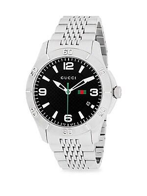 Stainless Steel Chain Link Bracelet Watch