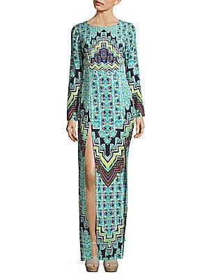 Rug Printed Maxi Dress