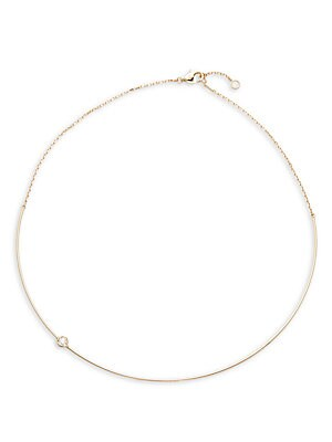 Click here for Diamond & 14K Yellow Gold Necklace prices