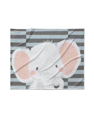 Elephant Fleece Blanket KAVKA