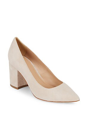 Val Leather Pumps