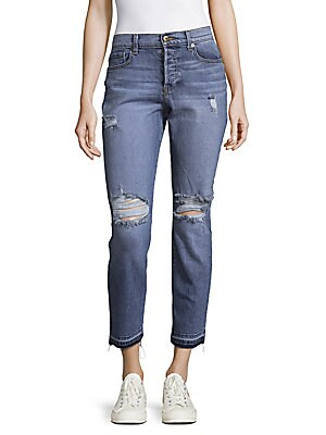 The Other Girls Sun Sity Cropped Jeans