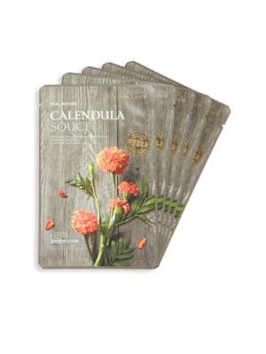 Five-Piece Calendula Face Mask Set The Face Shop