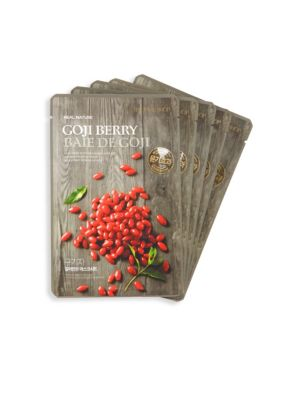 Five-Piece Goji Berry Face Mask Set The Face Shop