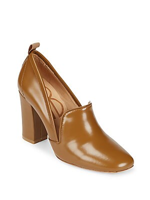 Laverne Leather Closed Toe Pumps