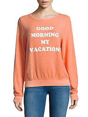 Good Morning Long-Sleeve Pullover