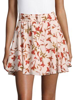 Printed Fountain Mini Skirt Lovers   Friends