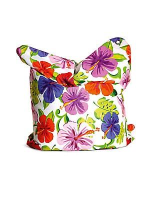Paradise Flower Bean Bag