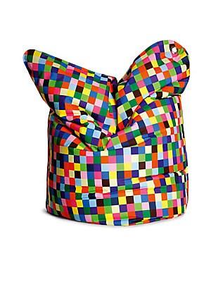 Happy Pixels Bean Bag