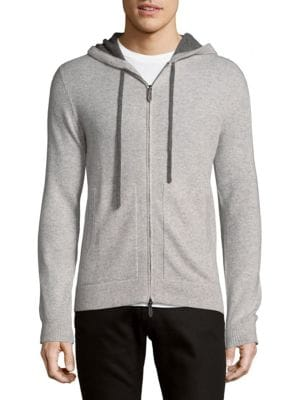 Long-Sleeve Cashmere Hoodie Saks Fifth Avenue
