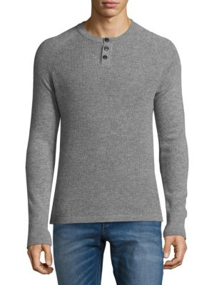 Thermal Cashmere Henley Cashmere Saks Fifth Avenue