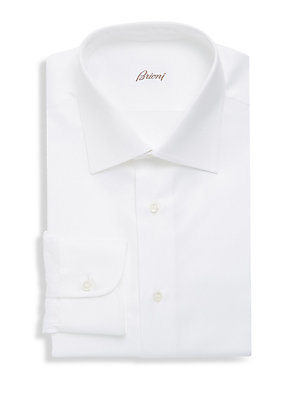 Plain Long Sleeve Dress Shirt
