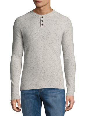 Donegal Cashmere Henley Saks Fifth Avenue