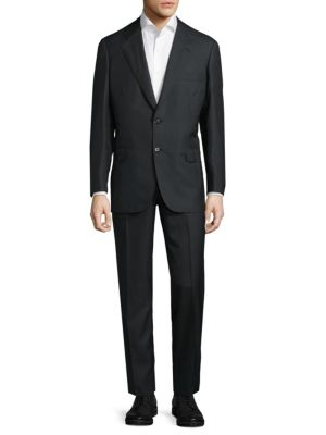 Modern Fit Wool-Blend Suit Brioni