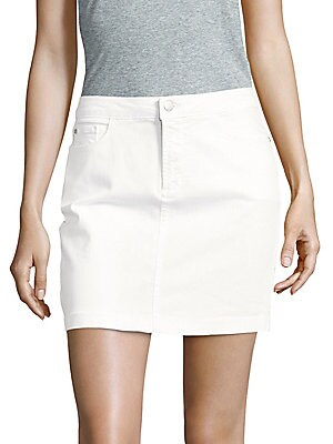 Emily Button-Front Skirt