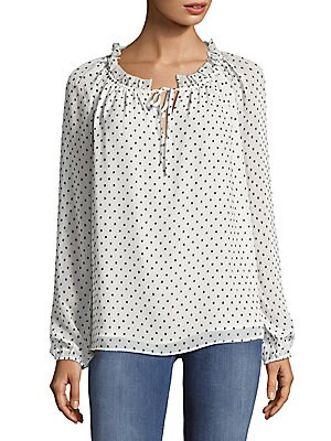 Clipped Jacquard Pullover