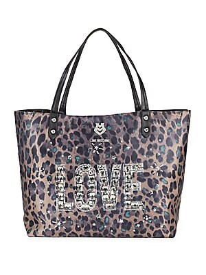 Leopard Printed Tote