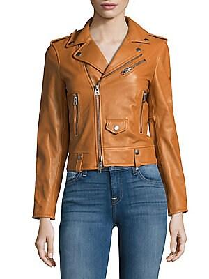 Fashion Leather Moto Jacket