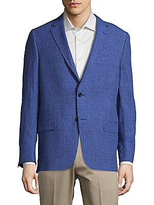 Milburn Notch Lapel Linen Sportcoat