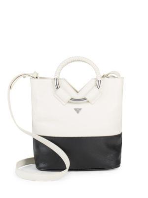 Elina Mini Colorblock Leather Crossbody Bag Sam Edelman