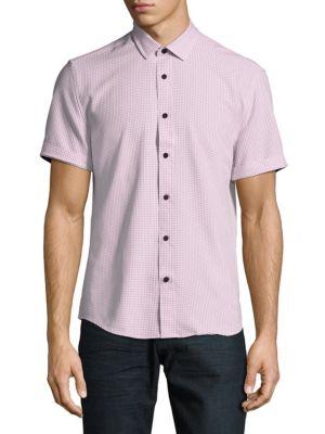 Heather Short-Sleeve Shirt Vince Camuto
